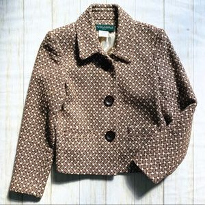 harve benard, petite, thick 100% cotton jacket 10P